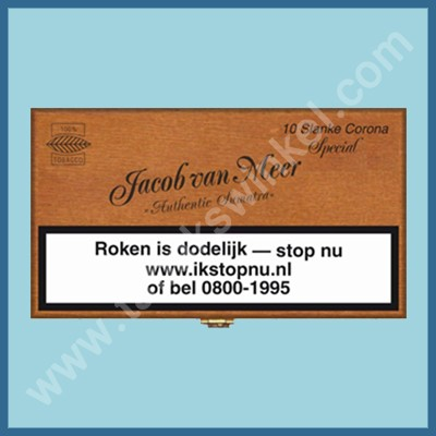 Jacob van Meer Slanke Corona 10 st.