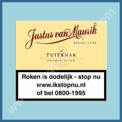 Justus van Maurik Tuitknak 10 st.