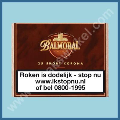 Balmoral Domenican short Corona 25 st.