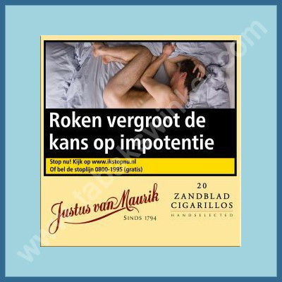 Justus van Maurik Zandblad cigarillos 20 st.