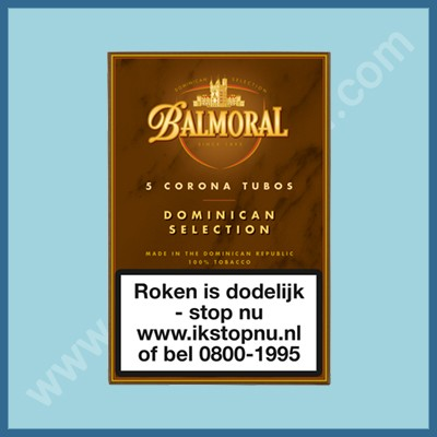 Balmoral Domenican Corona Tubos 5 st.