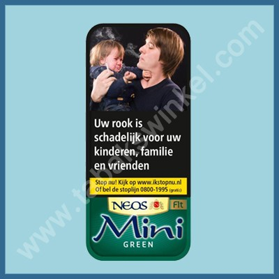 Neos mini menthol filter 5st.