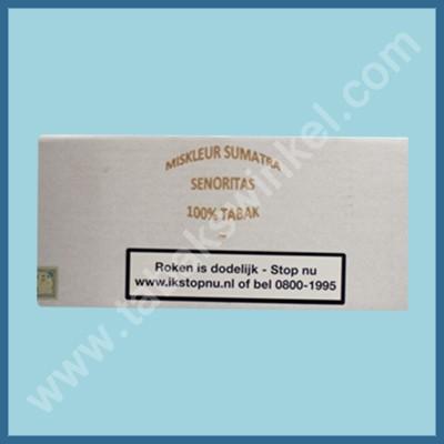 Miskleur sumatra senoritas 100% 100st