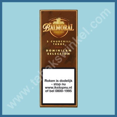 Balmoral Domenican Churchill 3 st. Tubos
