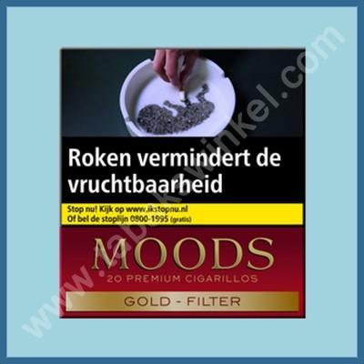 Moods Filter Golden Taste 20 st.