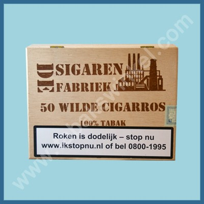 De sigarenfabriek Wilde cigarros 50 st 100% tabak
