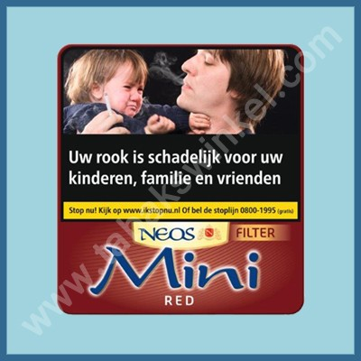 Neos Mini Red filter 20 st.
