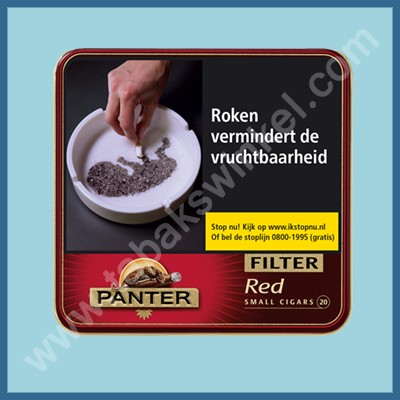Panter red filter 20 st.