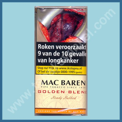 Mac baren Golden blend ready rubbed 50 gr