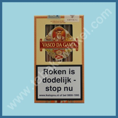 Vasco da Gama Claro 5 st