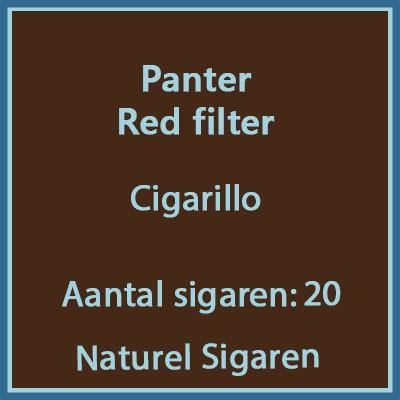 Panter red filter 20 st.