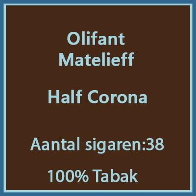 Olifant Matelieff 38 st.