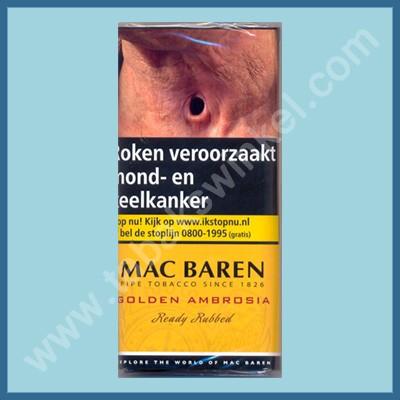 Mac Baren Golden Ambrosia ready rubbed 50 gr