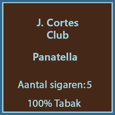 J. Cortes Club 5 st.