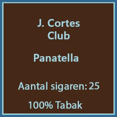 J. Cortes Club 25 st.