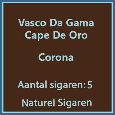 Vasco da gama Corona Cape de oro 5 st.