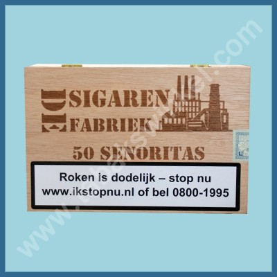 De sigarenfabriek Senoritas 50 st 100% tabak