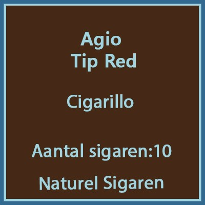 Agio Tip Red 10 st
