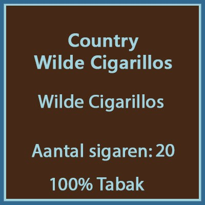 Country wilde Cigarillo 20 st.