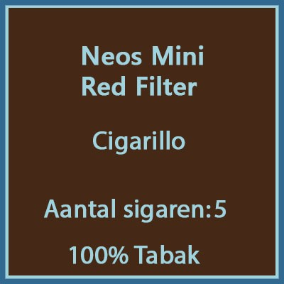 Neos Mini Red 5 st. Filter