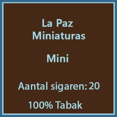 La Paz Miniaturas 20 st