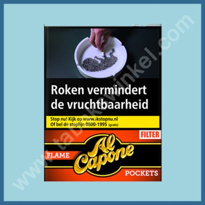 Al Capone Pockets Flame Filter 18 st