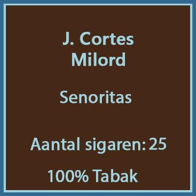 J. Cortes Milord 25 st.
