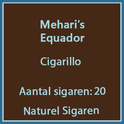 Mehari's Equador 20 st.
