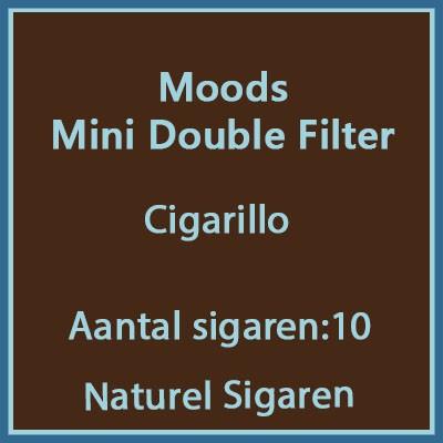 Mini Moods Double Filter 10 st.