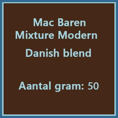 Mac Baren Mixure Modern danish blend 50 gr