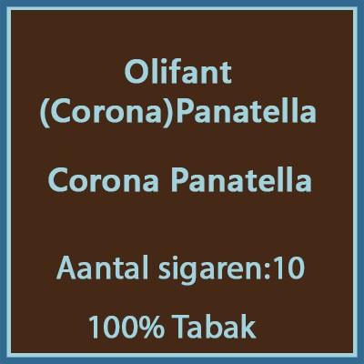 Olifant (Corona) Panatella 10 st.