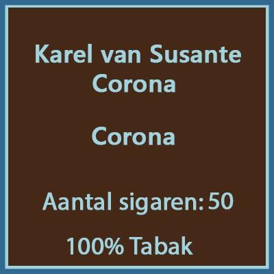 Karel van Susante Corona's 50 st.