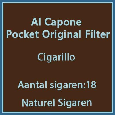 Al Capone Pockets Original filter 18 st