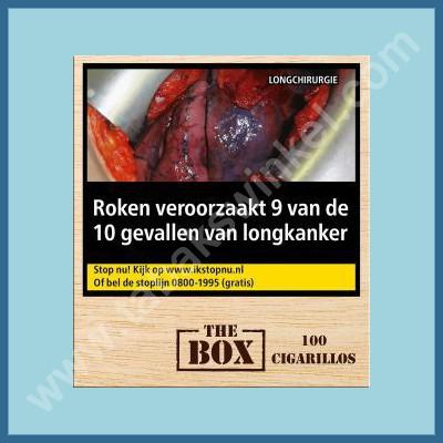 The Box Cigarillos 100 st
