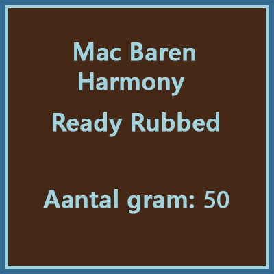 Mac Baren Harmony ready rubbed 50 gr