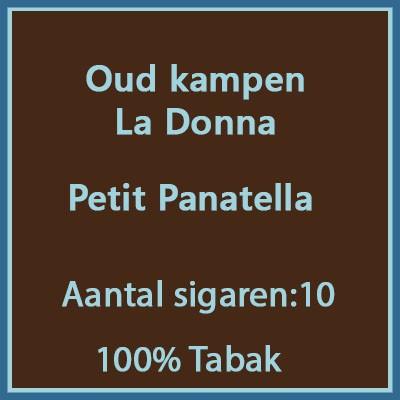 Oud kampen La Donna 10 st.