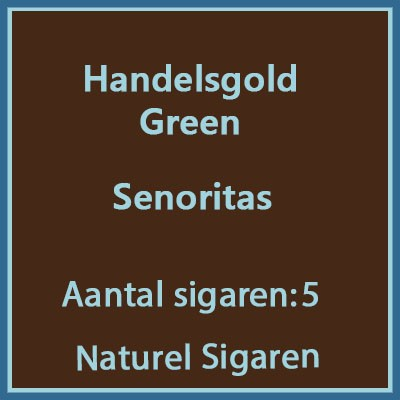 Handelsgold green 5 st.
