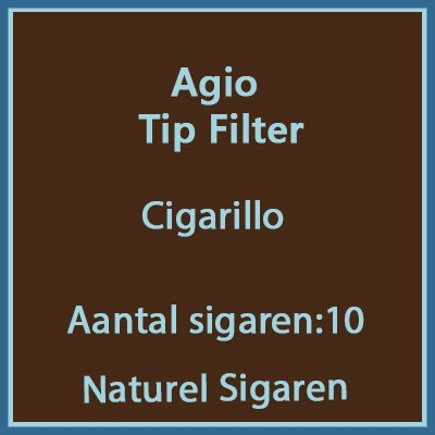 Agio Tip Filter 10 st
