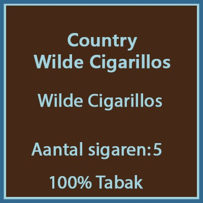 Country Cigarillo's 5 st