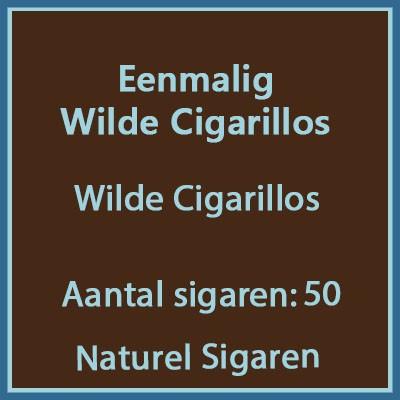 Eenmalig Wilde cigarillos 50 st