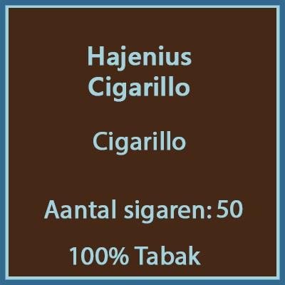 Hajenius Cigarillo 50 st.