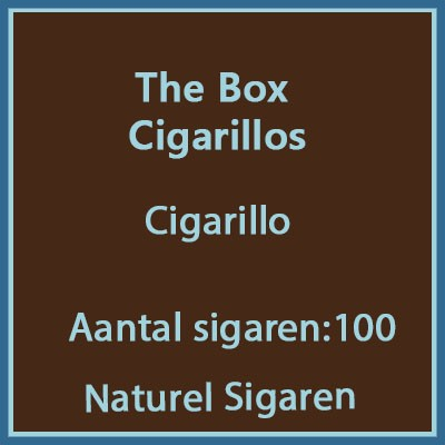 The Box Cigarillos 100 st