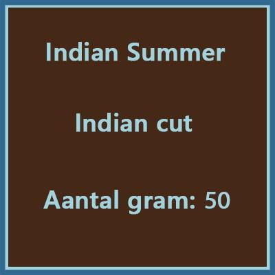 Indian summer Indian cut 50 gr