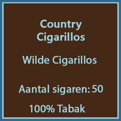Country Cigarillo's 50 st.