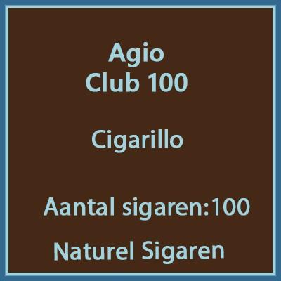 Agio Club 100 cigarillos 100 st.