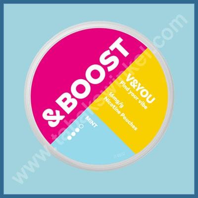 V&you &Boost Mint 16mg/g