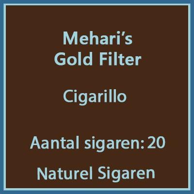 Mehari's gold filter 20 st.