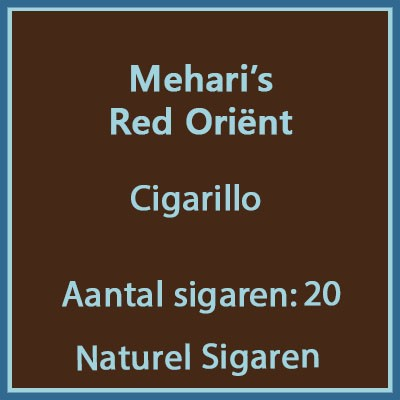 Mehari's Red Orient 20 st.