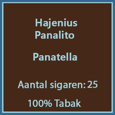 Hajenius Panalito 25 st.
