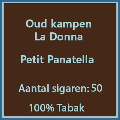 Oud kampen La Donna 50 st.